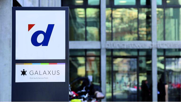 Der Unternehmenssitz von Digitec Galaxus in Zürich