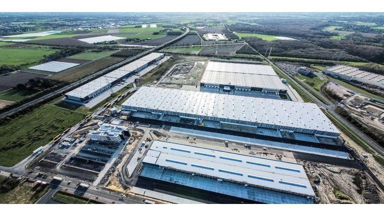 Der Logistikstandort von Galaxus Deutschland in Krefeld