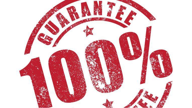 Eine Garantie ist eine freiwillige Dienstleistung des Herstellers oder des Händlers gegenüber dem Kunden.