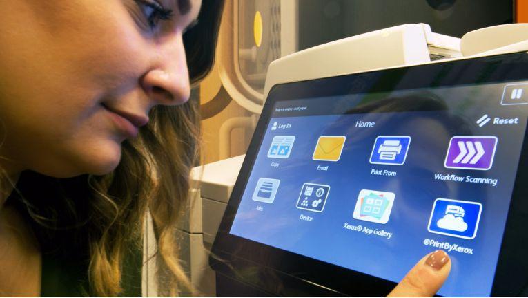 Mit der ConnectKey-Infrastruktur von Xerox können Cloud-basierte Drucklösungen individuell nach Kundenanforderung implementiert werden.