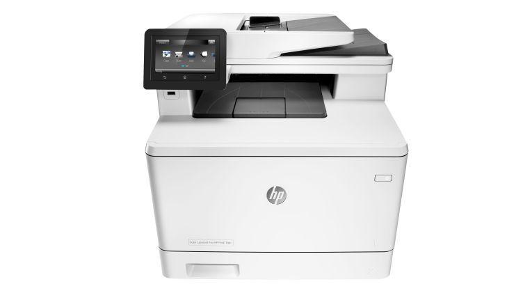 Neuer Spitzenreiter in der Gunst der Druckerhändler: Der im zweiten Quartal 2018 schon auf Platz 2 positionierte HP Color LaserJet Pro MFP M477fdn.