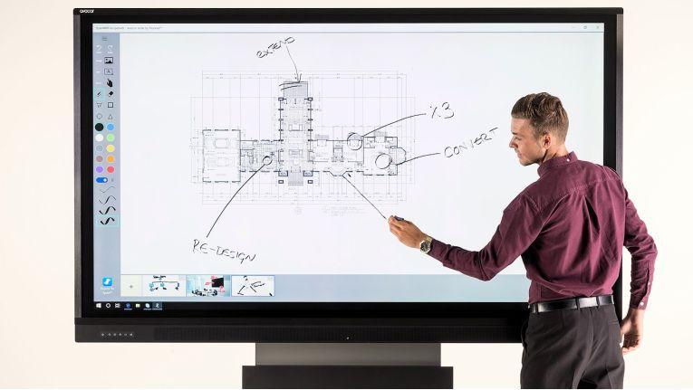 Das anpassbare Sortiment von Avocor, im Bild das Modell F50, ist laut Tech Data ein entscheidender Schritt nach vorne im Display-Markt.
