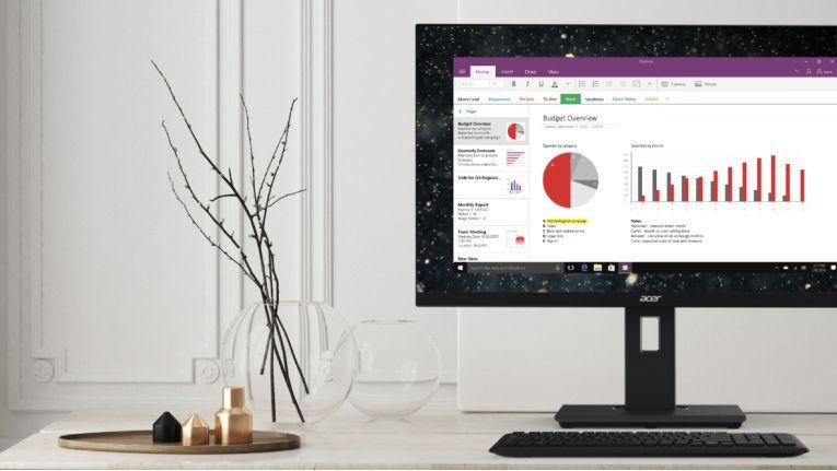 Das Acer BlueLightShield und die Flickerless-Technologie der Acer B7-Monitore schonen die Augen des Benutzers.