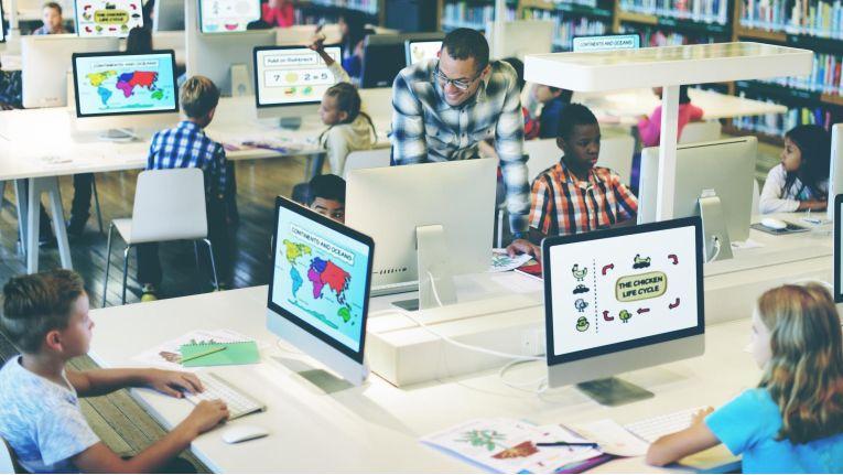 Vorerst kommt die Digitalisierung an deutschen Schulen nicht in Fahrt.