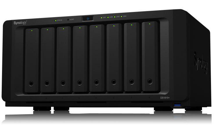 Synology DS1819+: Mehr Leistung für KMUs.