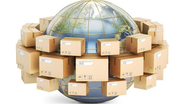 Weltweit, Handel, shipping, Supply chain 16:9