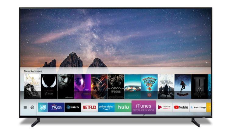 iTunes-Inhalte sollen bald auf Samsung-TV-Geräten aufrufbar sein.