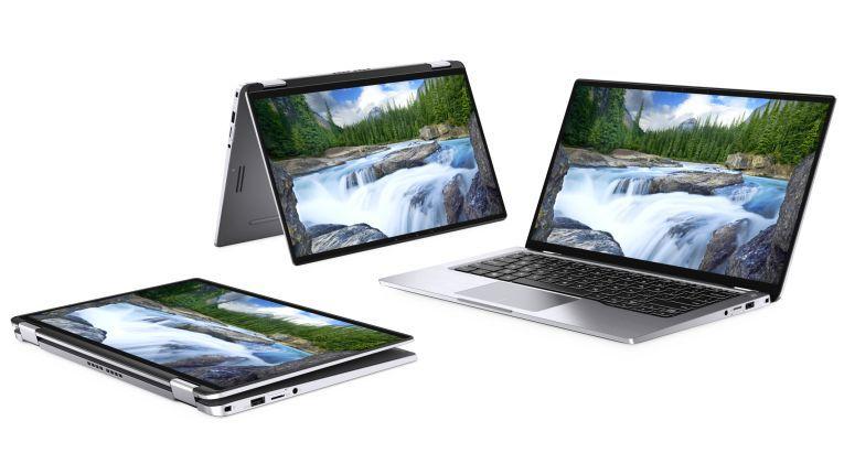 Latitude 7400 2-in-1 von Dell: Das Notebook soll seinen Besitzer mit Hilfe von Windows Hello automatisch erkennen.