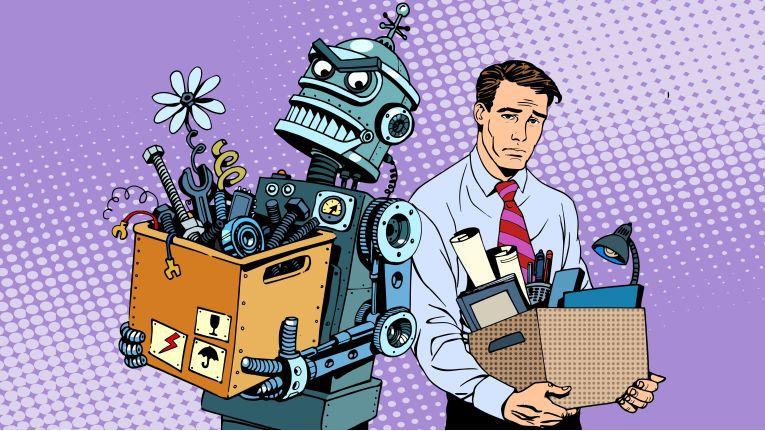 Ersetzt durch Künstliche Intelligenz: Wir sagen Ihnen, ob Ihr Job gefährdet ist.
