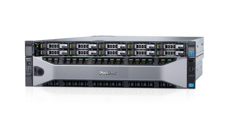 Mit Dell EMC XC Core wird das bisher aus der XC-Serie bestehende gemeinsame HCI-Portfolio von Dell EMC und Nutanix (ein Modell davon hier im Bild) um eine Möglichkeit erweitert, lediglich die Nutanix-Software zu lizenzieren.