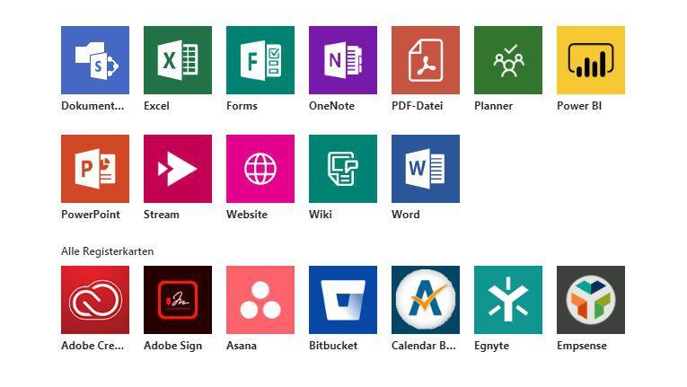 Mit Microsoft Teams sollen Anwenderunternehmen die Vielfalt an Softwarewerkzeugen für den den eigenen virtuellen Arbeitsraum bändigen können.