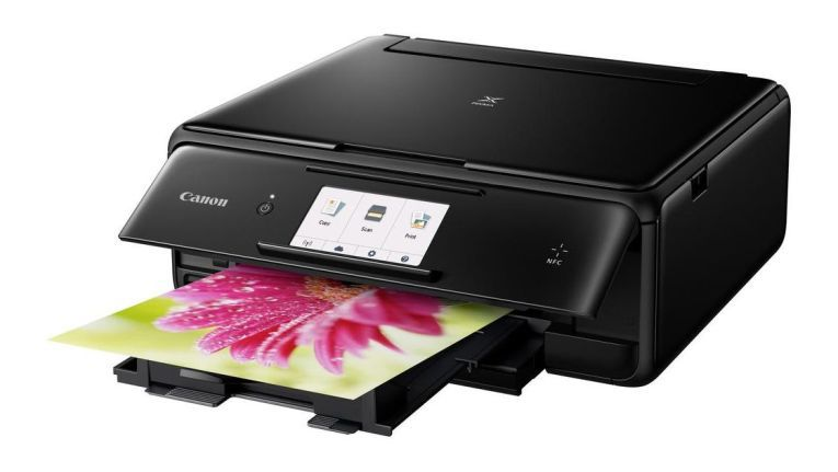 Multifunktionsdrucker mit gut funktionierendem NFC: Canon Pixma TS8050