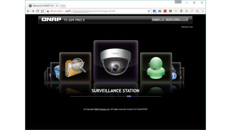 Steuerungsseiten von Webcams wie diese findet die Suchmaschine Shodan hundertfach.