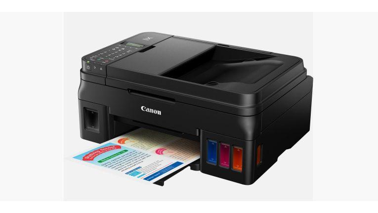 Nachfüllbare Tanks für vier Farben: Canon Pixma G4500 als Antwort auf Epson-Ecotank-Serie.