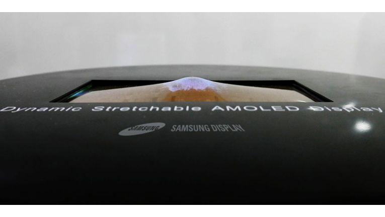 Biegsame Displays hat Samsung bereits vorgestellt.
