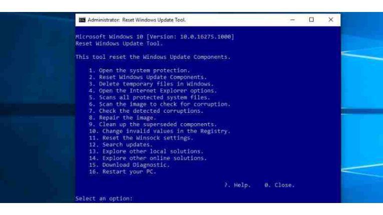 Microsoft-Tool: Reset Windows Update Tool