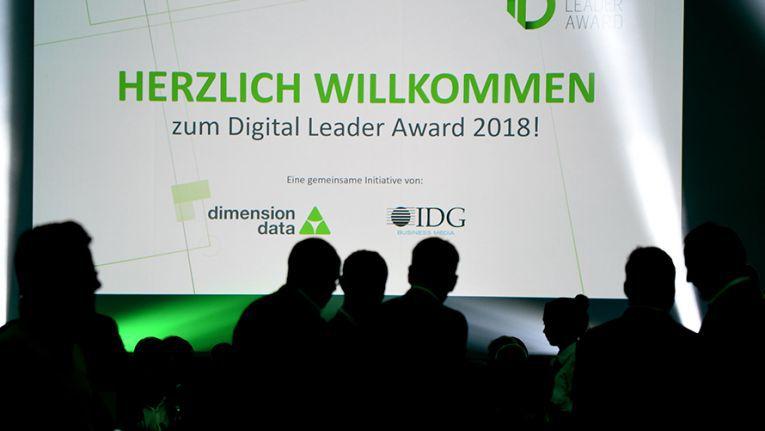 Über 250 Teilnehmer durften IDG und Dimension Data bei der Gala des Digital Leader Award 2018 begrüßen.