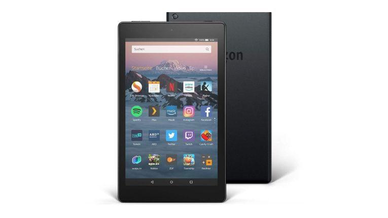 Günstiges Amazon-Tablet im Test: Fire HD 8