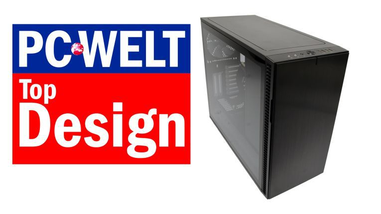 """Das Fractal Design Define R6 erhält den PC-WELT-Award """"Top Design""""."""