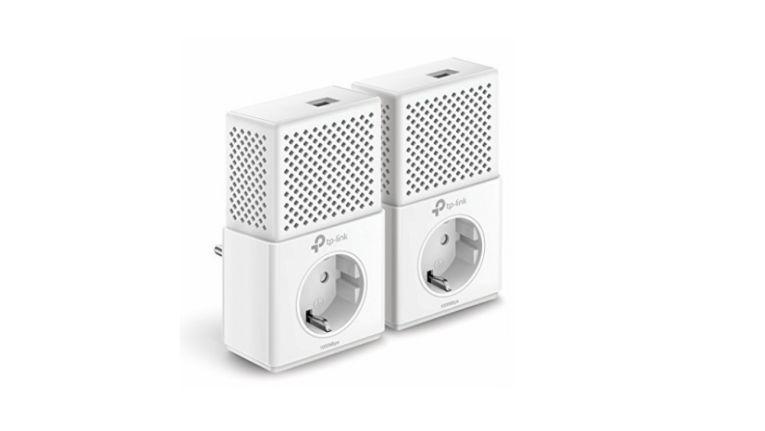Bis zu einem Gigabit pro Sekunde überträgt der Powerline-Netzwerkadapter TL-PA7010P KIT AV1000.