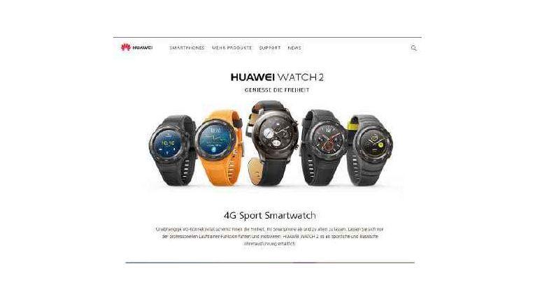 Seit 2017 gibt es die Huawei Watch 2 als LTE-Variante.