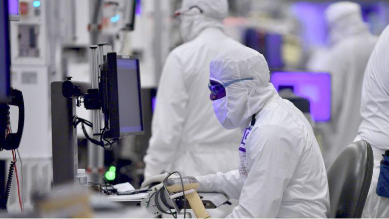 Fertigung bei Intel