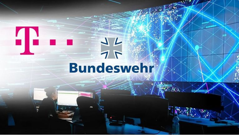Telekom und Bundeswehr arbeiten bei der Cyberabwehr künftig enger zusammen.