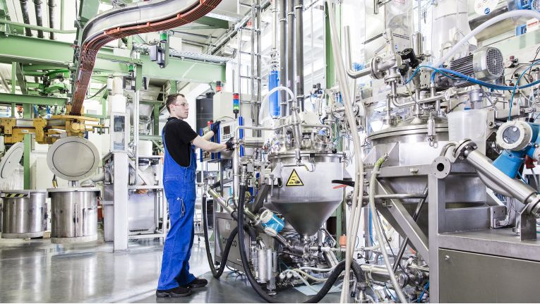 Rund 20 Millionen Euro hat Varta im Werk in Dischingen in die Batteriefertigung investiert.