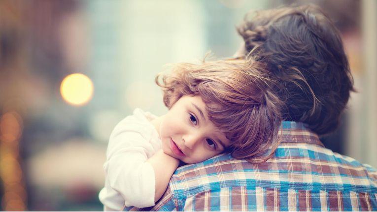 Heute Familienvater: Die Rollen einer Führungskraft sind vielseitig.