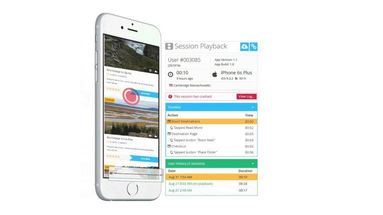 Einige Apps erfassen ganze Sitzungen als Video