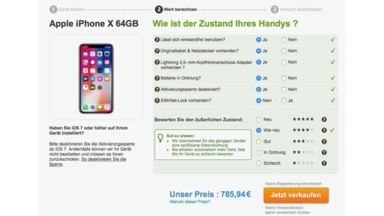gebrauchtes iphone x