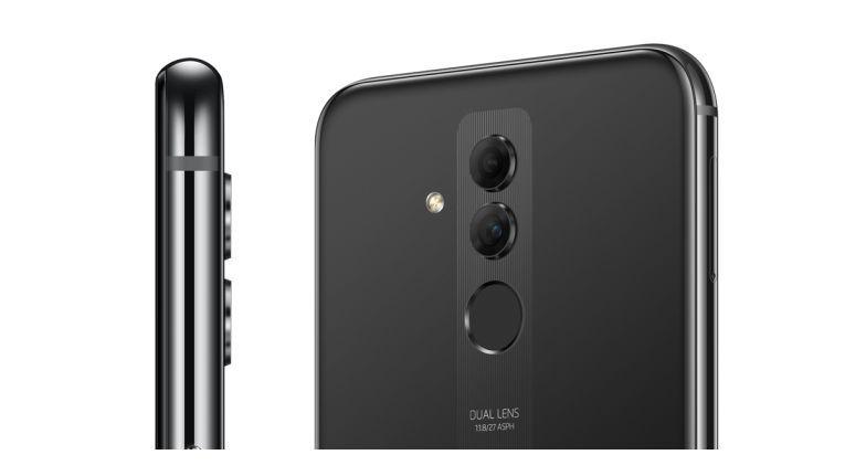 Die Dual-Kamera auf der Rückseite des Mate 20 Lite steht etwas aus dem Gehäuse hervor