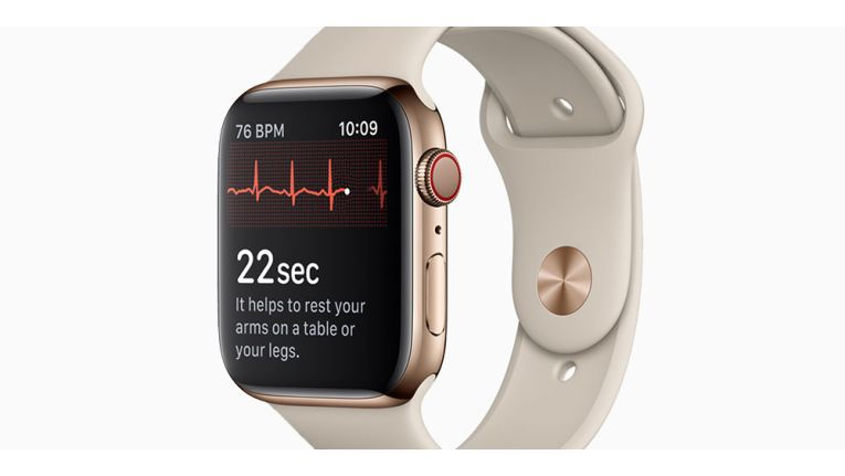 Noch in diesem Jahr in den USA, dann auch weltweit: Die Uhr als EKG-Messgerät