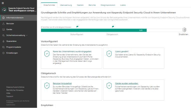 Kaspersky Lab erweitert Cloud-Security-Lösung
