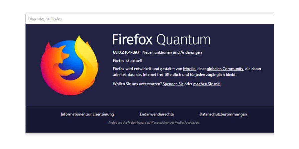 Mozilla behebt Fehler und schließt Lücke