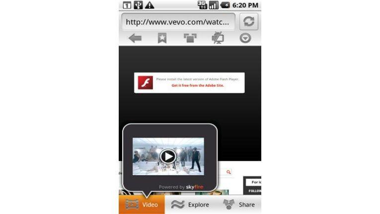 Flash Browser Für Android