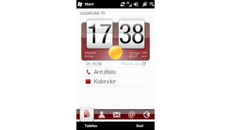 Windows Mobile 6.5: Erste Geräte schon vor dem Marktstart.