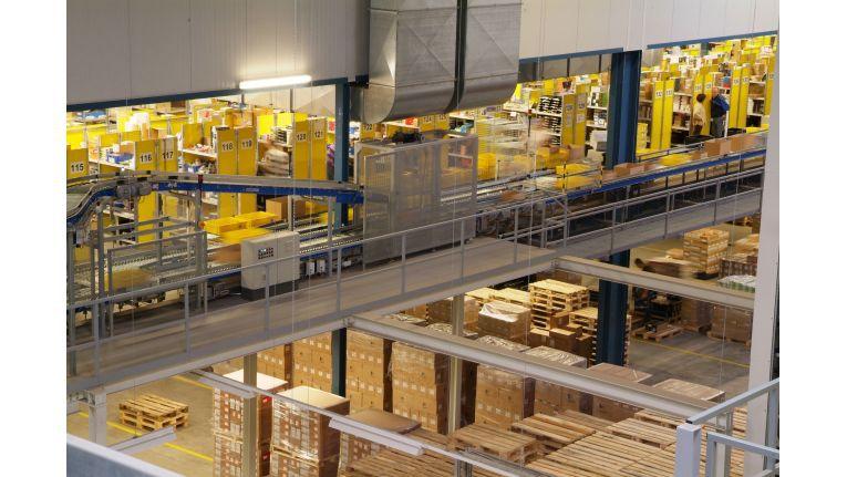 Perfekt durchorganisiert: das Logistikzentrum von Actebis Peacock