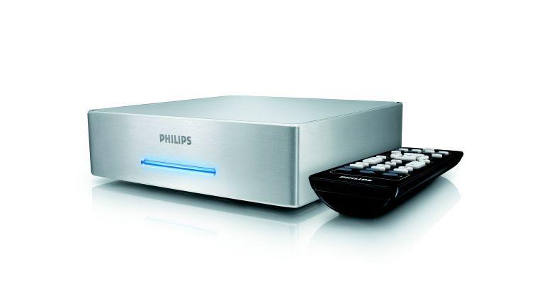 Philips bietet ab sofort zwei Multimedia-Speicherlaufwerke an. SPE9025CC ist ein externes Gerät, ...