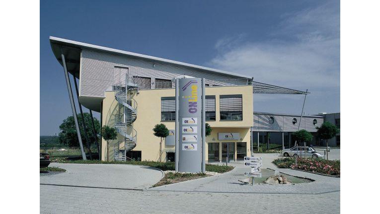 Firmenzentrale der ONLine Distribution GmbH in Unna