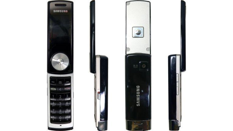 Das SGH-F210 von Samsung ist ein echter Hingucker.