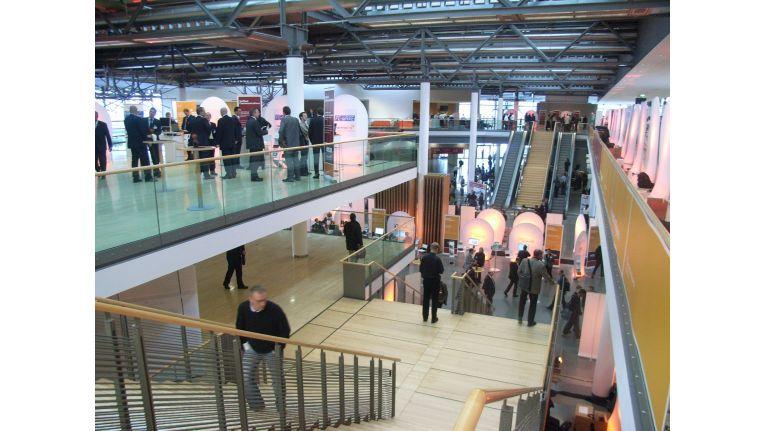 1.000 Besucher und 60 Aussteller bevölkerten Microsofts erste BI und UC-Konferenz in München.