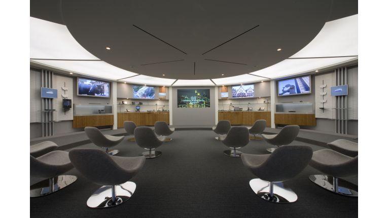 Hier veranschaulicht Cisco seinen Kunden und Partnern, was der Netzriese unter Unified Communications versteht.
