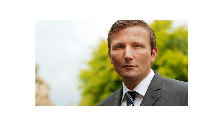 Michael Ringbeck von der Distribution² GmbH veratwortet den eCommercePark auf der CeBIT.