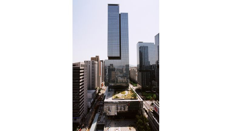 Das Samsung-Hauptquartier in Seoul