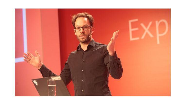Daniel Domscheit-Berg forderte ein öffentliches Gespräch über die Verwendung von Daten.