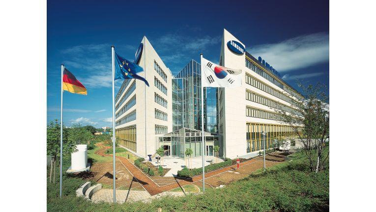 Die deutsche Samsung-Niederlassung in Schwalbach.
