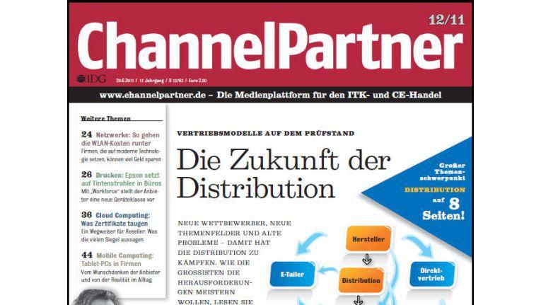 Titelseite der ChannelPartner-Ausgabe 12/11