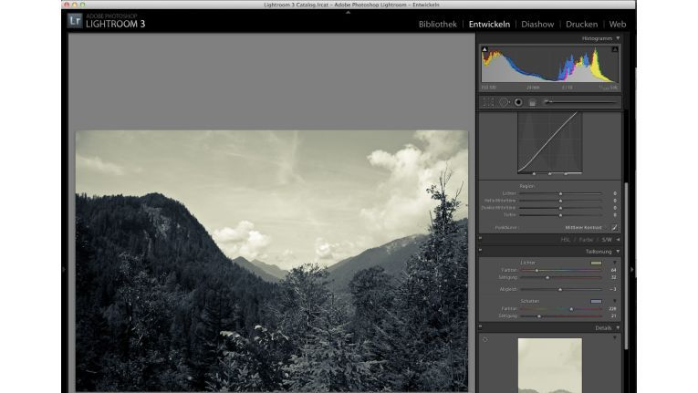 Lightroom 3 - Split Tones