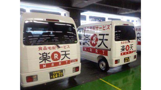 Same-Day-Lieferservices - einer der Jahrestrends von Rakuten - werden in Japan von dem E-Commerce-Unternehmen bereits angeboten